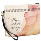 Prayer Changes Things Canvas Pouch