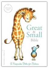 CSB Great & Small Bible: A Keepsake  Bible for Babies