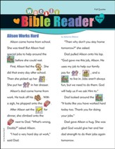 HeartShaper: Early Elementary Weekly Bible Reader ® (pack of 5), Fall 2020