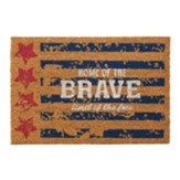 Home of the Brave Land of the Free Doormat
