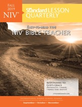 Standard Lesson Quarterly: NIV Bible Teacher, Fall 2019