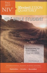 Standard Lesson Quarterly: NIV Bible Student, Fall 2019