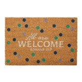 All Are Welcome Doormat