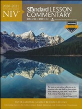 2020-2021 NIV Standard Lesson Commentary, Deluxe    Edition