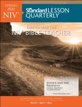 Standard Lesson Quarterly: NIV ® Bible Teacher, Spring 2020