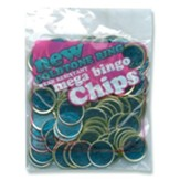 Blue Mega Magnetic Bingo Chips (100)
