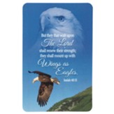 Wings As Eagles Pocket Card