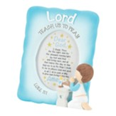 Lord Teach Us to Pray, Boy, Framed Art