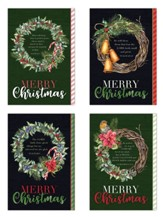 Christmas Wreaths Christmas Cards, Box of 12