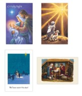 Traditional Christmas Cards, Box of 12