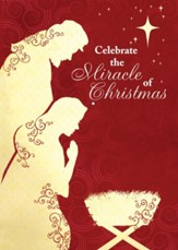 Celebrate the Miracle of Christmas, Box of 12 Cards