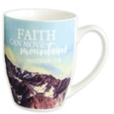 Faith Can Move Mountains Mug In Gift Box