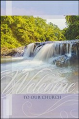 Welcome to Our Church - Welcome Folder (Pack of 12)