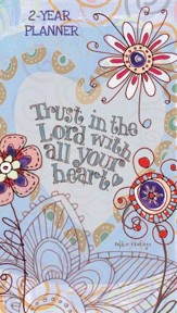 Trust in the Lord with all your heart, 2020-21 Pocket Planner