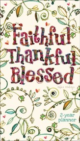 Faithful, Thankful, Blessed, 2020-21 Pocket Planner
