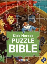Kids Heroes Puzzle Bible