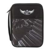 Eagle Wing, Isaiah, 40:31, Bible Cover, Black, Thinline
