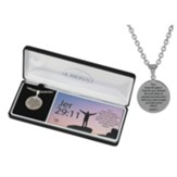 For I Know the Plans I Have For You Men's Necklace, Stainless Steel