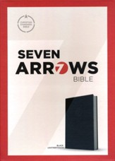 CSB Seven Arrows Bible: The How-to-Study Bible for Students, Black LeatherTouch Imitation Leather