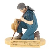 Farmer, Farmer's Prayer, Figurine