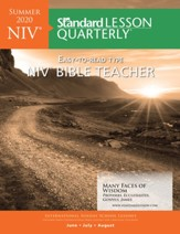 Standard Lesson Quarterly: NIV Bible Teacher, Summer 2020