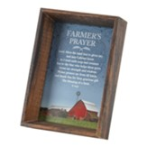 Farmer's Prayer Framed Art