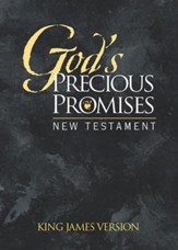 KJV God's Precious Promises New Testament, Black Cover