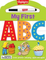 My First ABC - My First Write-On,  Wipe-Off Board Book