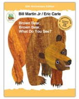Brown Bear, Brown Bear What do You See? 50th Anniversary Edition with Audio CD