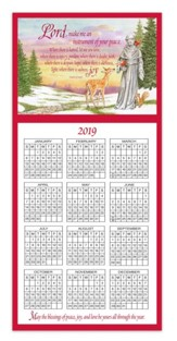 St. Frances Calendar Card