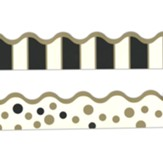 Gold Bars Double-Sided Border