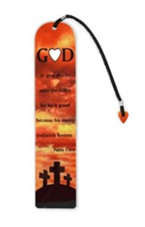 God/Heart Metal Bookmark