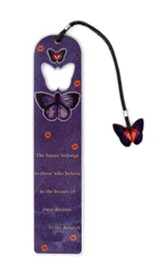 Believe/Butterfly Metal Bookmark