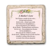 A Mother's Love Sentiment Tile