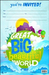 Great Big Beautiful World: Invitation Poster