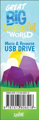 Great Big Beautiful World: Music and Resource USB Drive