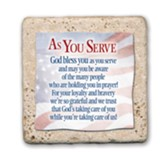 As You Serve Sentiment Tile