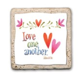 Love One Another Sentiment Tile