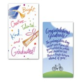 Graduate Money Cards, Pack of 8