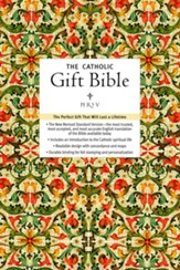 NRSV Catholic Gift Bible, Imitation Leather