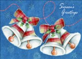 Bells Collage Christmas Cards, Box of 12
