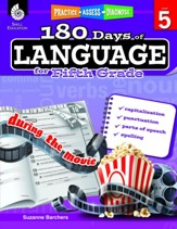 180 Days of Language, Grade 5