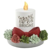 Merry and Bright LED Candle