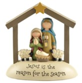 Jesus Is the Reason For the Season Figurine