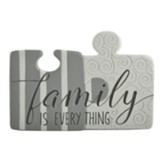 Family is Everything Puzzle Piece Wall Art