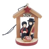 Joy, Amish Nativity, Ornament