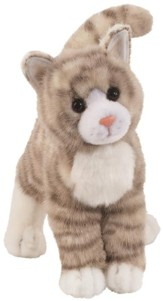 Zipper, Gray Tabby Cat, Plush