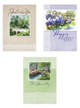 Bridges Birthday Cards, Box of 12