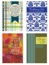 Blessings Birthday Cards, Box of 12