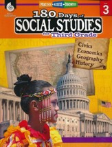 180 Days of Social Studies for Third  Grade